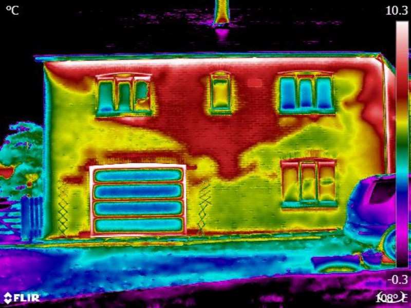 Poor insulation in a home
