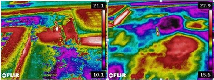 Flat Roofs Core Sampling Surveying