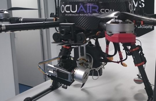 Drone technology for infrared thermography