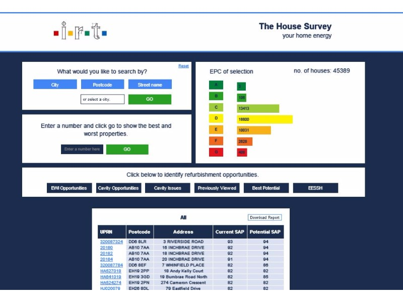 TheHousesurvey.co.uk report page.