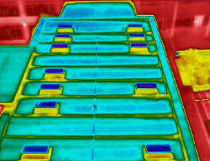 Flat Roof Good Condition - Thermal Image